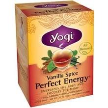 Yogi Teas Organic Vanilla Spice Energy - 16 CT