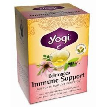 Yogi Teas Organic Echinacea Immune - 16 CT