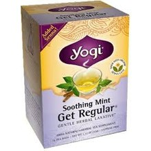 Yogi Teas Organic Get Regular Mint - 16 CT