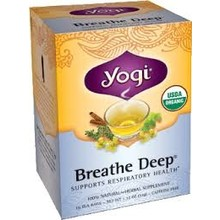 Yogi Teas Organic Breathe Deep - 16 CT