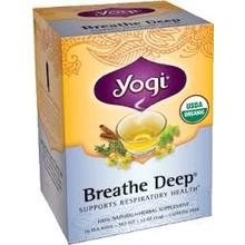 Yogi Teas Organic Breathe Deep - 16 CT