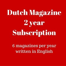 Mokman Dutch Magazine 2 yr subscription - 2 years