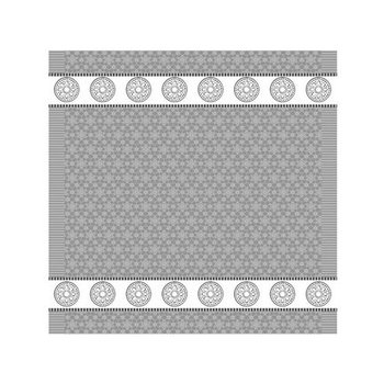DDDDD Lace - Grey Tea Towel  24x25 inch - EACH