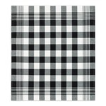 DDDDD Block - black Tea Towel  24x25 inch - EACH