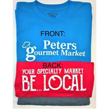 Peters Gourmet Market CHARCOAL  T-Shirts XL