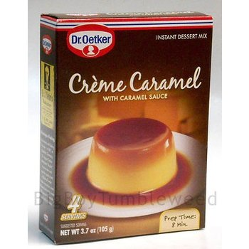 Dr Oetker Creme Caramel dessert mix with caramel - 6 CT