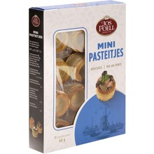 Jos Poell Mini Puff Pastry Cups 12 count - 2.1 oz box