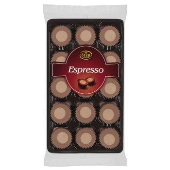 Sier Espresso Chocolate cup -s 4.4 oz tray