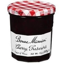 Bonne Maman Cherry Preserve - 13 OZ Jar