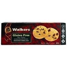 Walkers Shortbread Choc Chip Rounds Gluten Free - 5.3 OZ