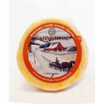 Kammerude Rosmry Garlic Cheese 8 Oz