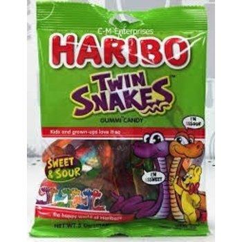 Haribo Twin Snakes Sweet & Sour - 5OZ bag