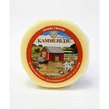 Kammerude Plain Gouda Cheese - 8 OZ