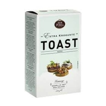 Jos Poell Crispy Round Toasts - 3.5 oz box