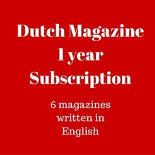 Mokman Dutch Magazine 1 yr subscription - 1 year