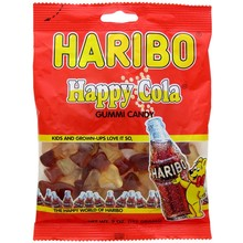 Haribo Happy Cola Bottles Bag - 5.2 OZ