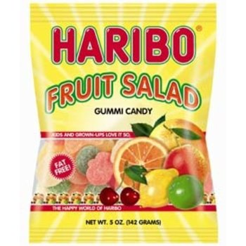 Haribo Fruit Salad Bags - 5.2 OZ