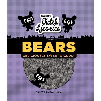 Gustafs Sugared Bears Licorice - 5.2 OZ