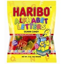 Haribo Alphabets Letters Bag - 5.2 OZ