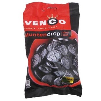 Venco Licorice Coins Bag - 5.9OZ