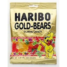 Haribo Gold Bears Bags 5 oz - 5 OZ