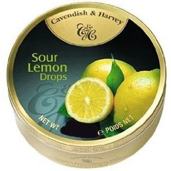 Cavendish & Harvey Lemon Fruit Tin - 5.3 oz Sour Lemon Tin