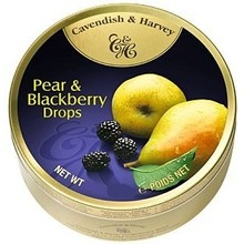 Cavendish & Harvey Pear And Blackberry - 5.3 oz tin
