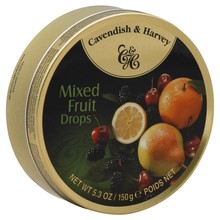 Cavendish & Harvey Mixed Fruit Tin - 5.3 oz