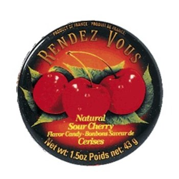 Rendez Vous Cherry Candy Tin - 1.5 OZ tin