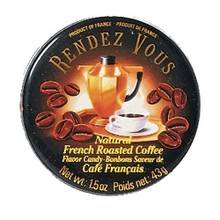 Rendez Vous Coffee Candy Tin - 1.5 OZ