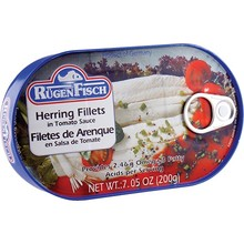 Rugenfisch Herring Fillet Tomato Tin - 7.05OZ