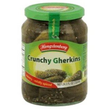Hengstenberg Knax Crunchy Gherkins - 24.3 OZ Jar