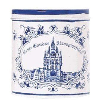 Verweij Syrupwafers in Blue Tin - 8 ct
