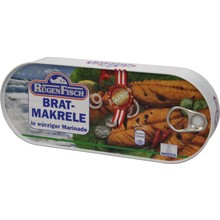 Rugenfisch Fried Mackerel Fille Oil Tin - 17 oz