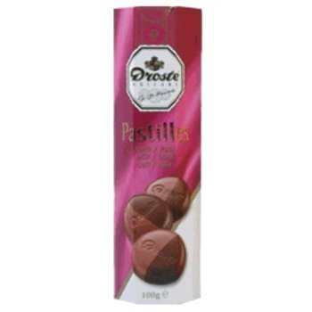 Droste Doublet Milk & Dark Chocolate Pastille - 3.5 OZ