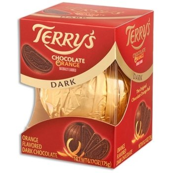 Terrys Dark Chocolate Orange - 6 OZ