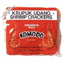 Komodo Krupuk Udang Shrimp Cracker raw - 8 OZ