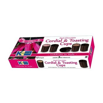 Kane Chocolate Cordial Toasting Cups - 2.47 OZ