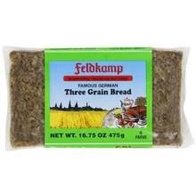 Feldkamp Three Grain Bread - 16 OZ