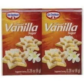 Dr Oetker Natural Vanilla Sugar - 6CT