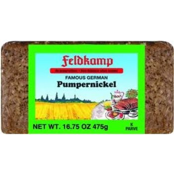 Feldkamp Pumpernickel Bread - 16 OZ