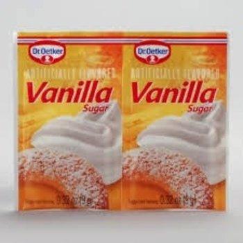 Dr Oetker Vanilla Sugar Artificial Flavor pakkets - 6 CT