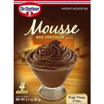 Dr Oetker Milk Choc Mousse - 3.1  OZ