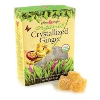 Ginger People Organic Crystal Ginger - 4OZ