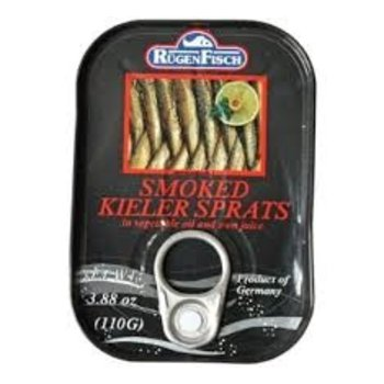 Rugenfisch Smoked Kieler Sprats In Tin - 3.88OZ