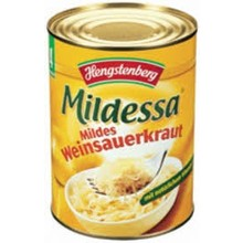 Hengstenberg Hengs Mildessa Sauerkraut - 10.6OZ can