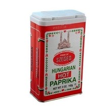 Szeged Hot Paprika Spice Tin - 5OZ