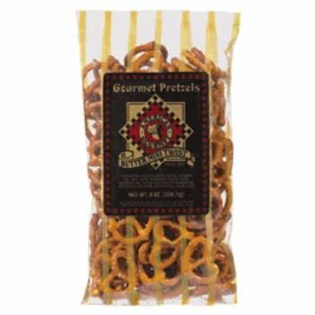 American Gourmet Butter Mini Twist Pretzel 8 oz black label