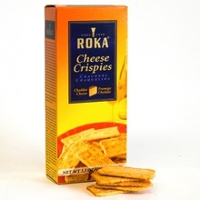 Roka Cheddar Cheese Crispies 3.5 Oz Box