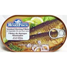 Rugenfisch Smoked Herring Fillet In Oil Tin - 6.7OZ
